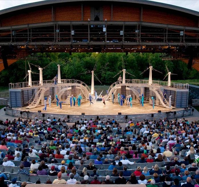 Trollwood Performing Arts School Bluestem Center For The