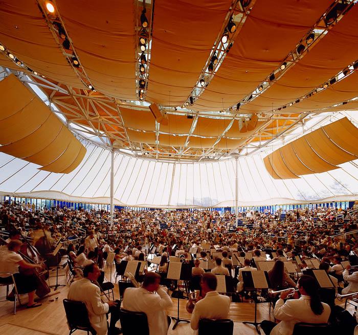 Aspen Music Festival Tent