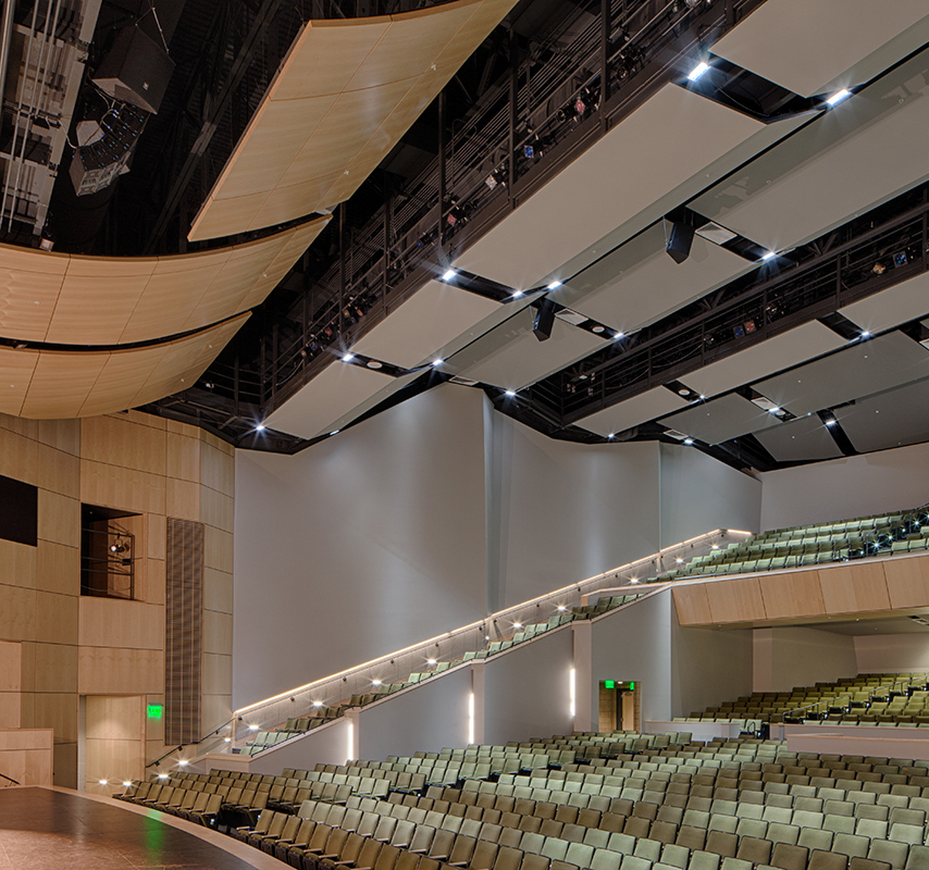 Awe Inspiring Olympus High School Theatre Auerbach Consultants Home Interior And Landscaping Pimpapssignezvosmurscom