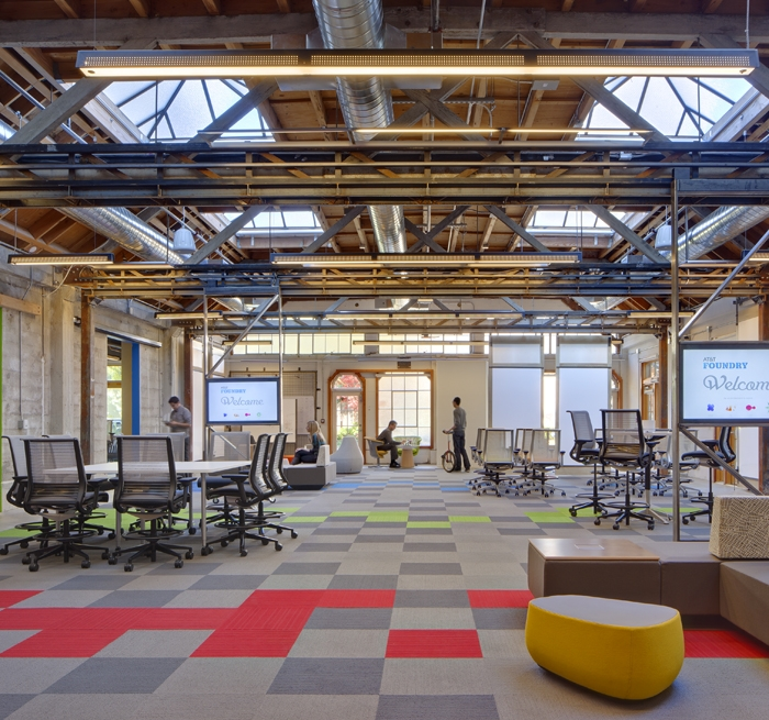 California Colleges And Universities >> AT&T Foundry Innovation Center Architectural Lighting Project | Auberbach Design and Consulting