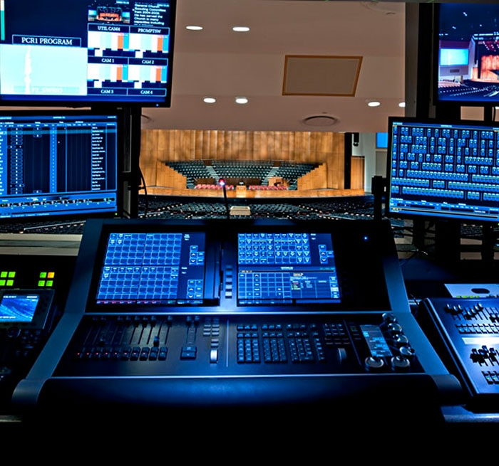 BYU-Idaho Center Auditorium and HDTV Broadcast Center