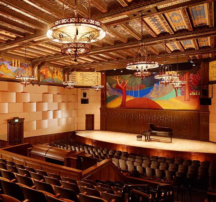 Mills College, Jeannik Méquet Littlefield Concert hall