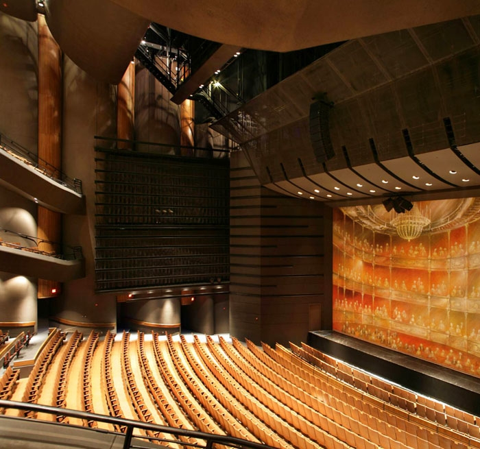 University Of Texas Austin Performing Arts Center And