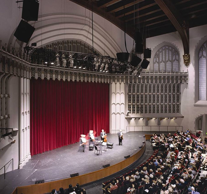 University of Southern California Bovard Auditorium